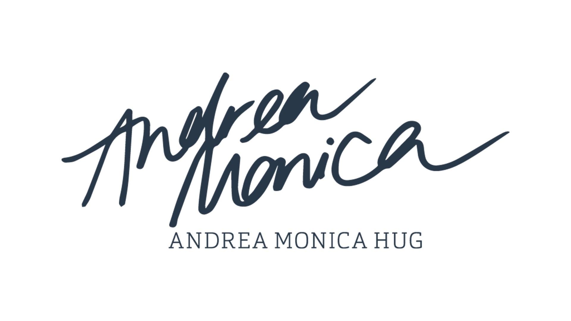 andrea_monica_hug_logo_hell